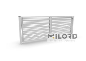 Ogrodzenia metalowe z profili zamkniętych - 10