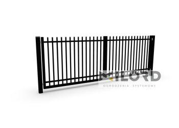 Ogrodzenia metalowe z profili zamkniętych - 26