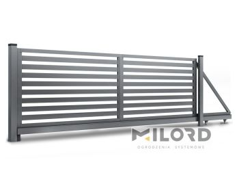 Ogrodzenia metalowe z profili zamkniętych - 58