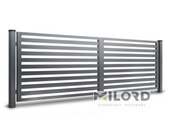 Ogrodzenia metalowe z profili zamkniętych - 59