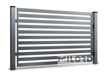Ogrodzenia metalowe z profili zamkniętych - 61