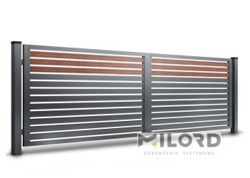 Ogrodzenia metalowe z profili zamkniętych - 0